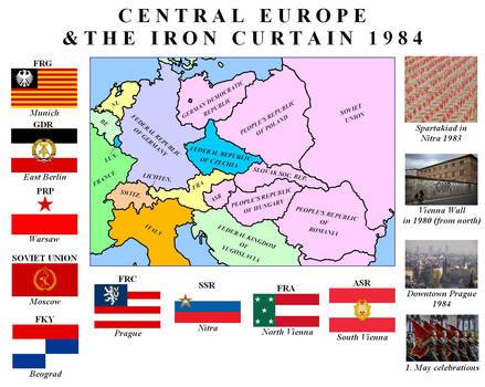 Alternative Map Of Europe.Alternative Map Of Europe 1984 By Tomsimpson96 On Deviantart
