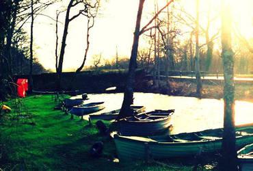 Boats in Ireland by KatelynPryor