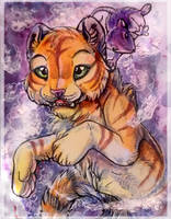 ACEO_MoonsongWolf by 0-Kyuubs-0