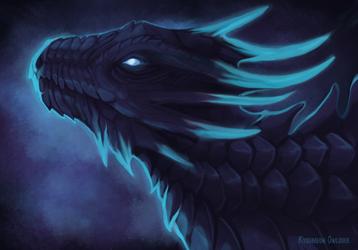 Dark indigo by Kyuush