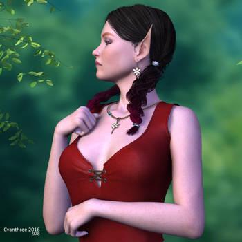 Alyeria Dawnsong (3) by cyanthree