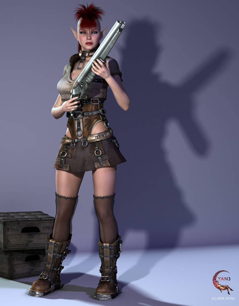Punk Elf by cyanthree