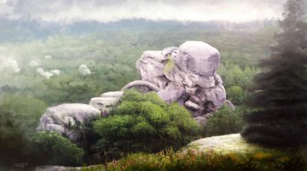 rock guardian by Fryenn