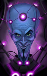 megamind takes over Braniac by amonir1981