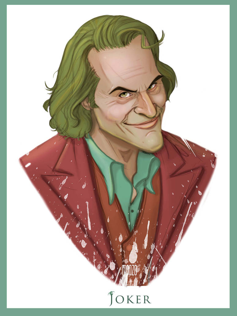 joaquin phoenix joker by amonir1981