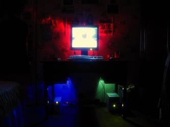 my desktop by PRETEND3R