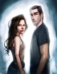 Kate and Jack Into the Light by devowankenobi