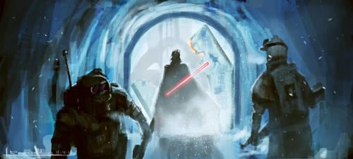 Enter Vader by devowankenobi
