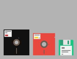 Diskettes by diazchris