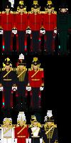 Saxon Royal Division of Guards and Royal Household by tsd715
