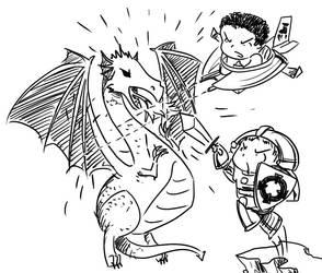 Dragon Fury by bideru