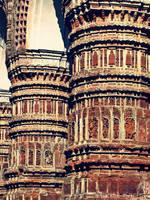 Terracotta Pillars by rahatFARHAN