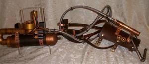 Steampunk Wrist Gun 2 by Macabre151