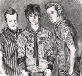 Green Day done by violeta1354