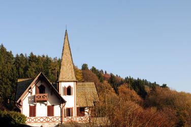 witcher s house by Tiestodj