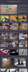 Bow, Arrows and Quiver Tutorial. by neptunyan