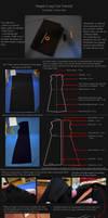 Simple Coat Tutorial: Yuu Kanda - D.Gray-Man. by neptunyan