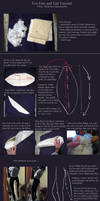Fox tail and ears tutorial. by neptunyan