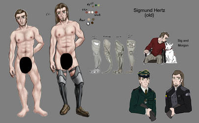 Sigmund Reference (OLD) by Excellency-Shinigami