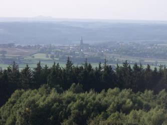 View to Heerlen City by Dracondra