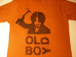 Old Boy T-Shirt by ViewtifulDario