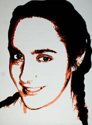 Marja - portrait by Mmitja