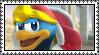 King dedede Stamp by HoshiiNoMaki