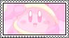 Penguin Kirby Pink Stamp 2 by HoshiiNoMaki