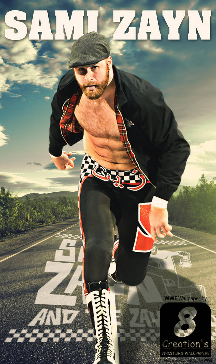 Sami Zayn Phonewallpaper By Arunraj1791 On Deviantart
