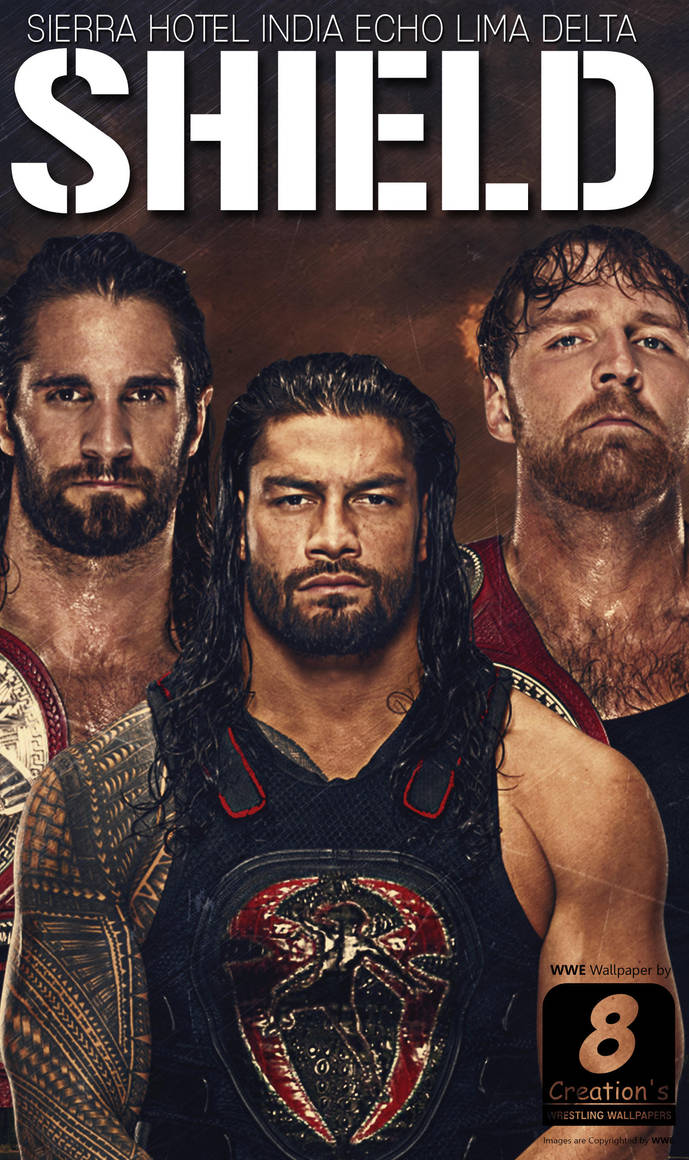 Wwe shield 2017 iphone android wallpaper by arunraj1791 - Download pictures of the shield wwe ...