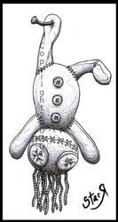 Ragdoll tattoo 1 by DickStarr