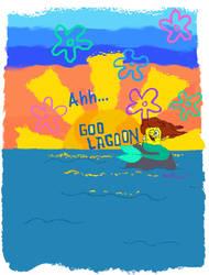 Ahh, Goo Lagoon (Threadless design) by NeriSiren