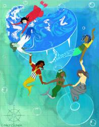 Ocean in a Glass by NeriSiren