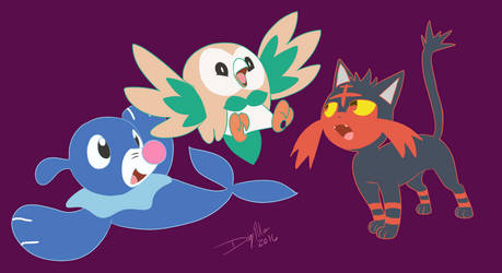 New Starters Revealed by OminousMoonBlast