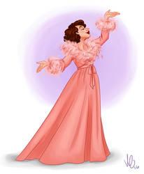 Ladies of Theatre: Mona Kent by Swirk
