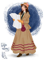 Ladies of Theatre: Jerusha Abbott by Swirk