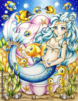 Molly Mermaid - Under the Sea by MyCandyGirl