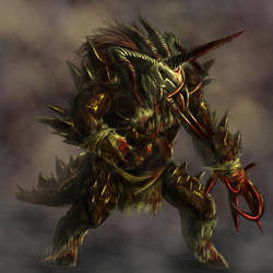 Berserker Beast by Daimera