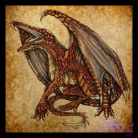 A random dragon, I guess. by Daimera