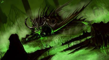 Black Dragon by DiegoKlein