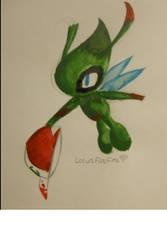 Celebi by LotusFoxfire