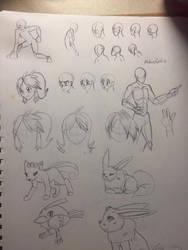 Draw Study2 by LotusFoxfire