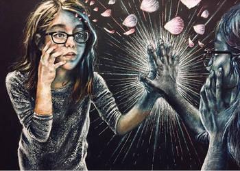 the mirror by peachiiemi