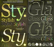 ASL PSD Text Effect Styles by djnick2k