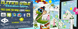 Running Snake - Xmas Edition - 100% FREE GAME by djnick2k