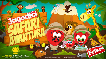 Jagodici Safari avantura - New Cartoon on YouTube! by djnick2k
