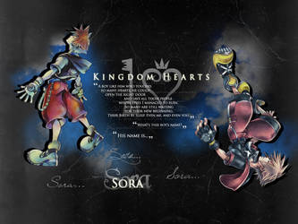 Kingdom Hearts - 10th Anniversary by Sheerer