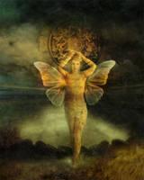 Queen of Pentacles by JenaDellaGrottaglia