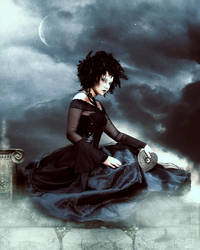 raven goddess by JenaDellaGrottaglia