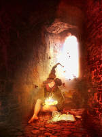 one lone witch by JenaDellaGrottaglia